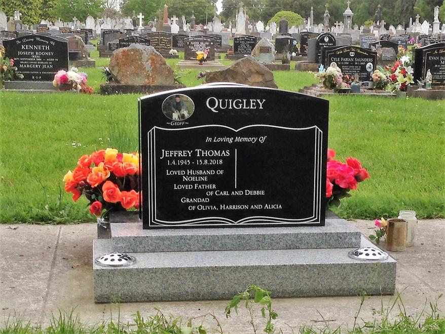 Headstone - Quigley