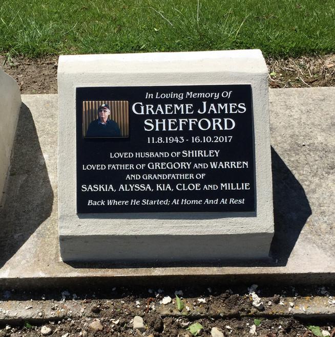 Granite Plaque - Shefford