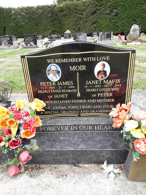 Headstone -Moir