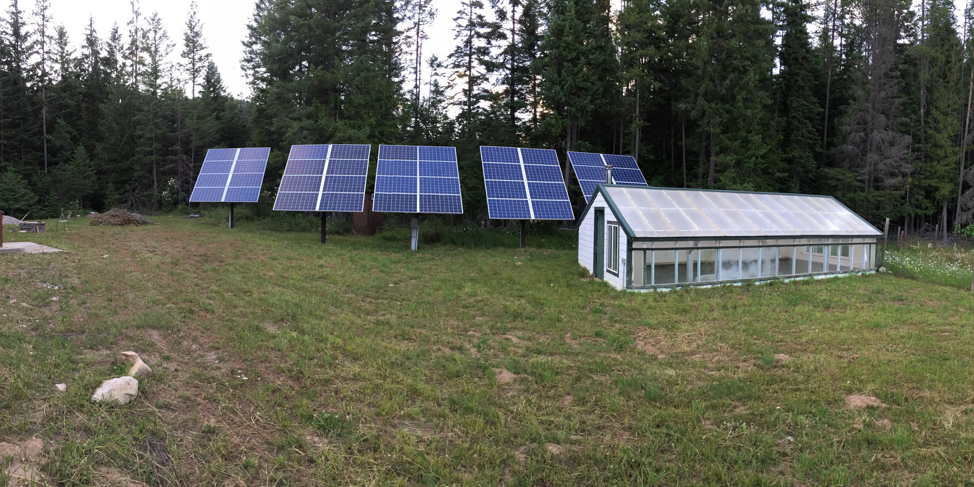 Solar Array & Solar Greenhouse