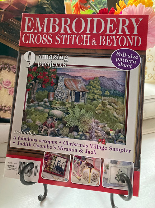 Embroidery & Cross Stitch Vol 21 #1