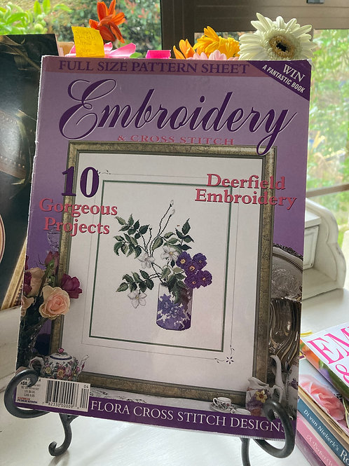Embroidery & Cross Stitch Vol 10 #4