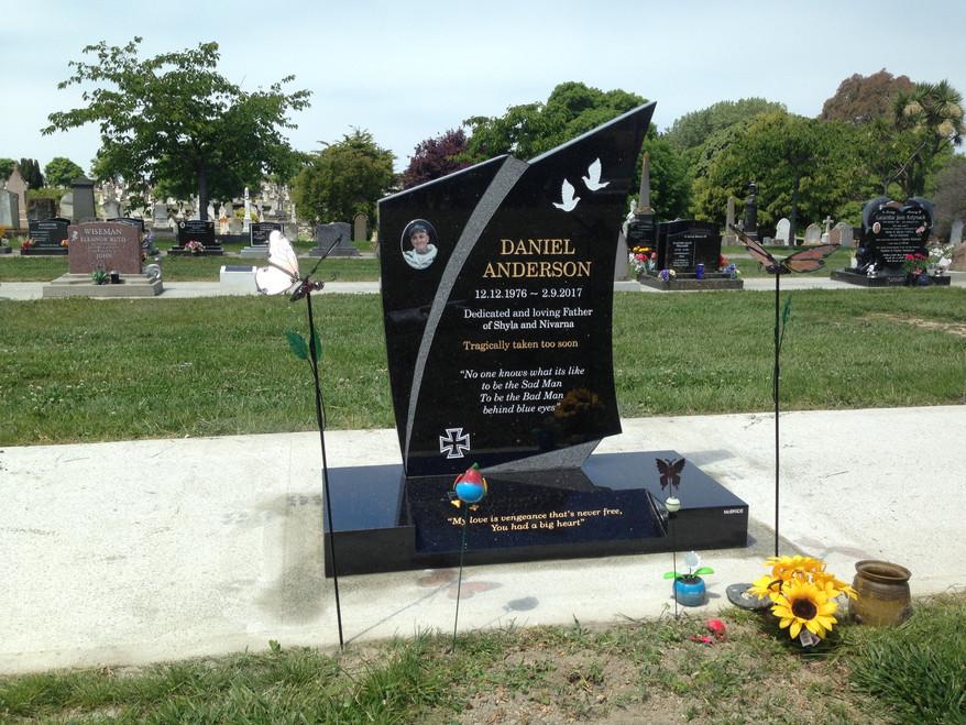 Headstone - Anderson