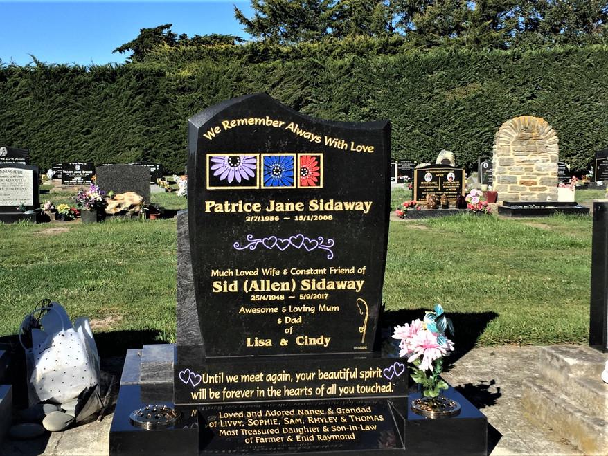 Headstone - Sidaway