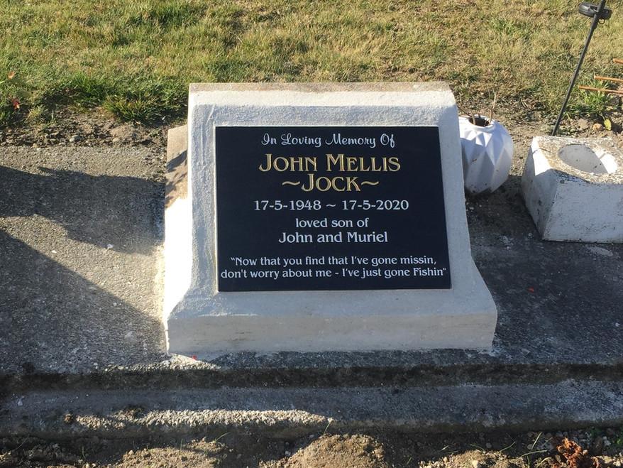 Granite Plaque - Mellis
