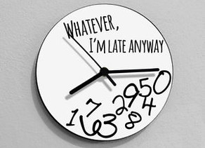 The Arrogance of Lateness