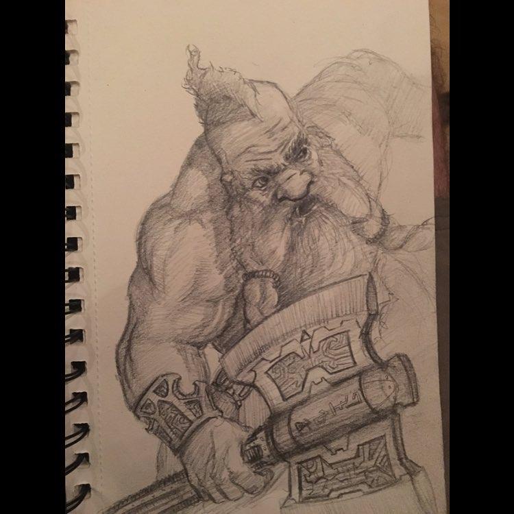 Concept Art for WarRift