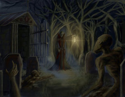 Lone Necromancer by Matthew Crum