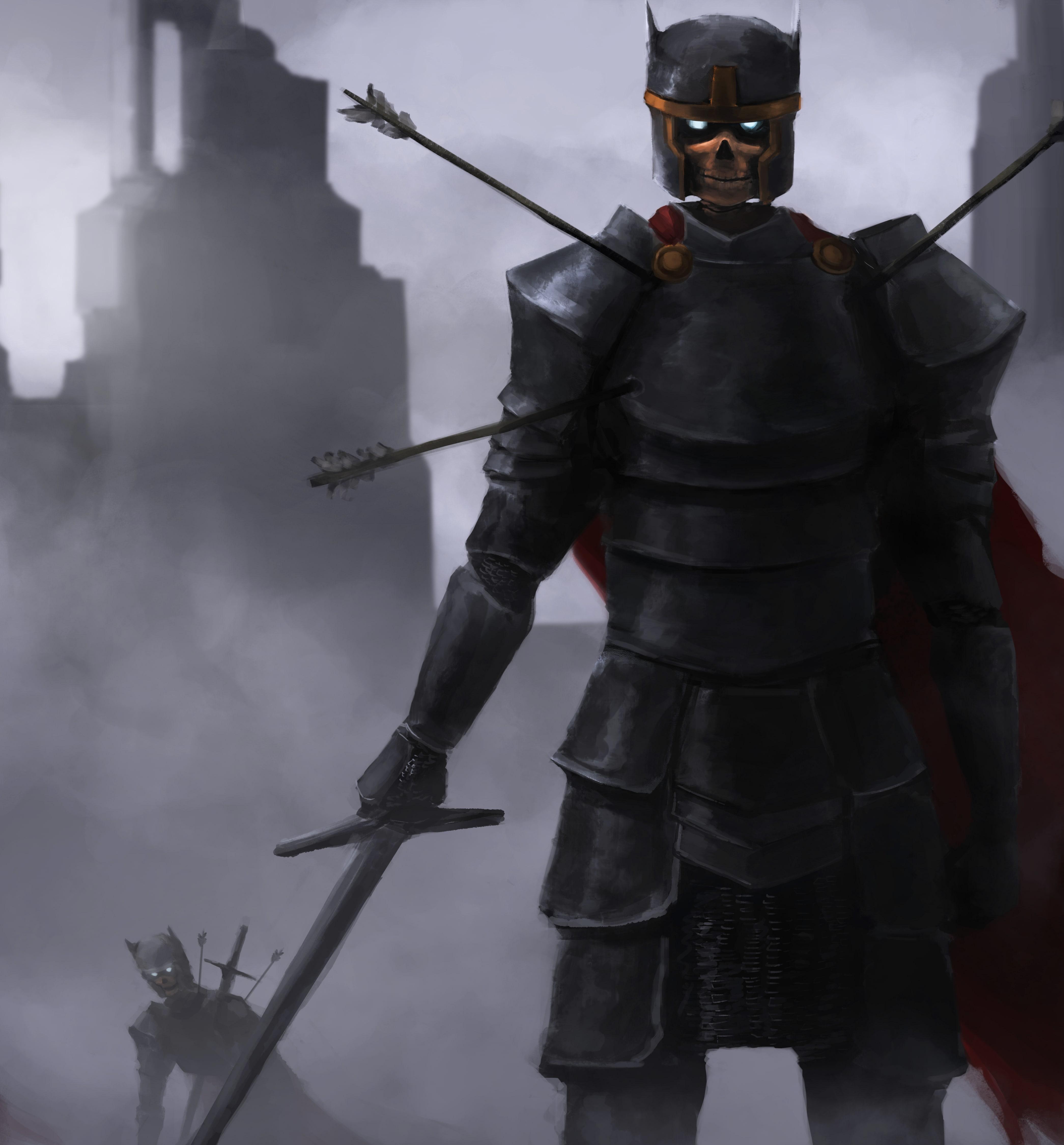 Warrior by Felipe Yoon