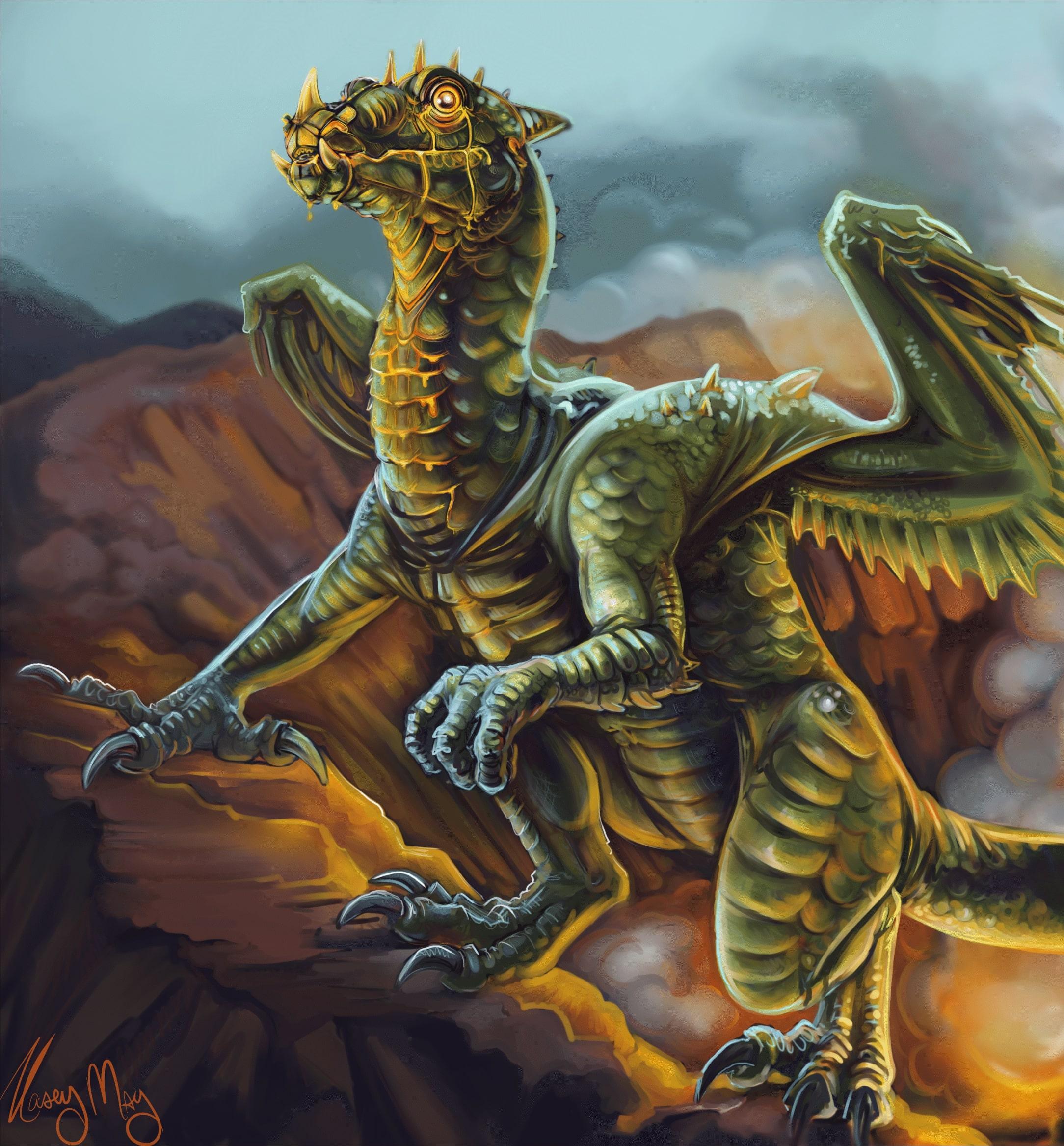 Dragonling by Kasey May
