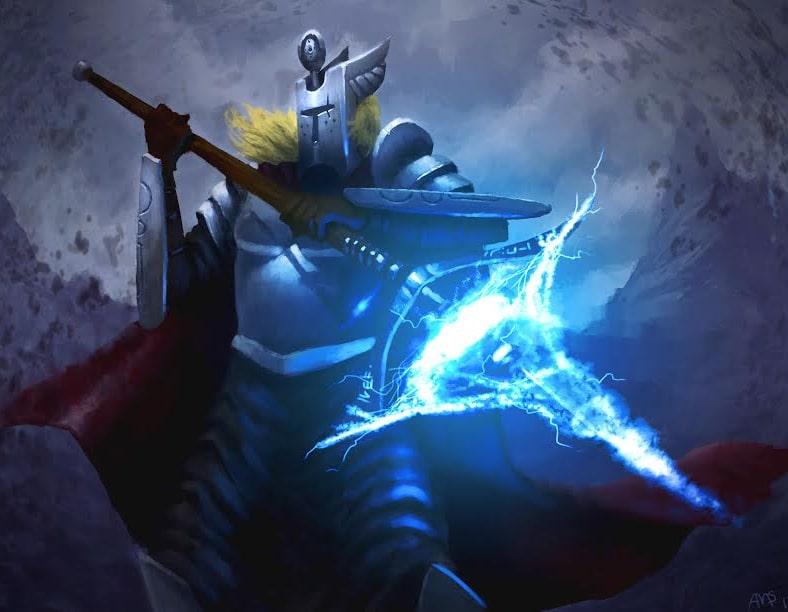 Vortex Knight by Aric Salyer
