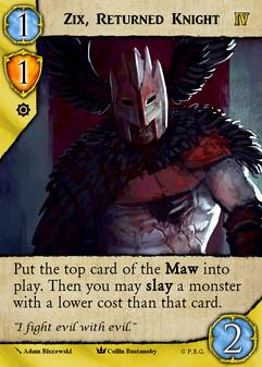 Zex, Returned Knight