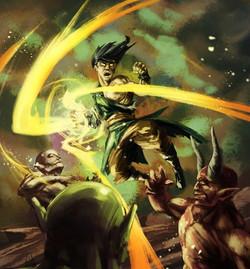 Warlock by Nahuel Brezik Guana