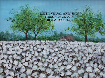 Delta Visual Arts Show Book Signing & Reading:  Saturday, February 24th, First Baptist Church Fa