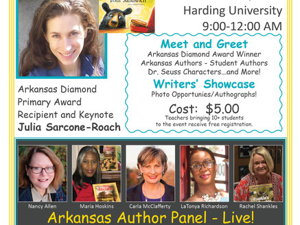 Everyone's an Author - Harding University, Saturday, March 2, 2019 9:00 a.m.-Noon