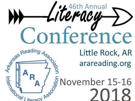 Arkansas Reading Association's 46th Annual Literary Conference:  Nov. 15th & 16th, Little Ro
