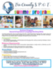 TriCounty SPOT Summer Program - Flyer.jp