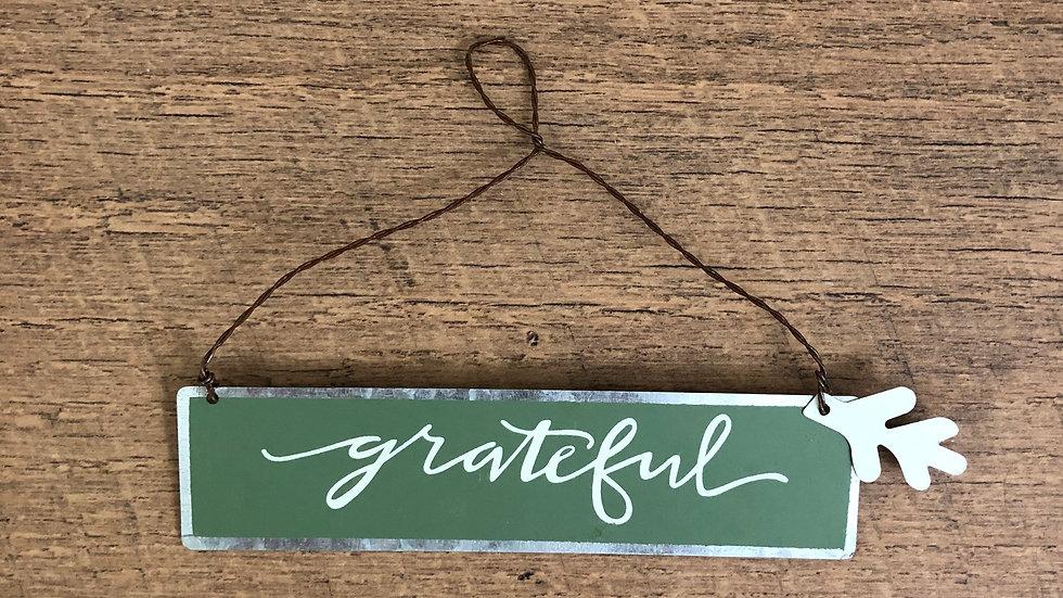 Grateful Metal Fall Ornament