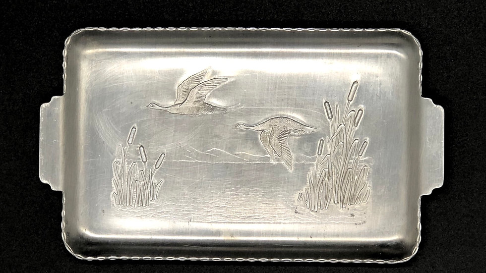 Small Vintage Duck Tray