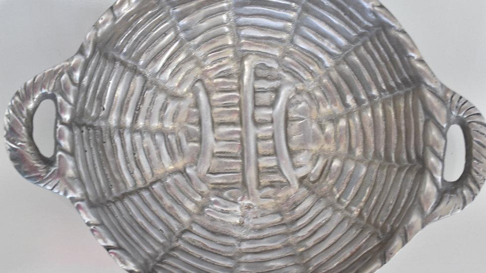 Metal 'Woven' Bowl