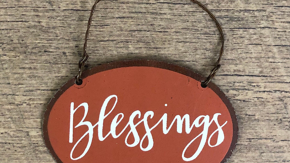 Blessing Fall Ornament