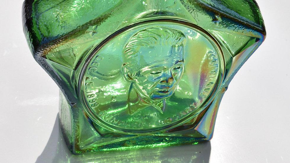 Wheaton Carnival Green Glass Bogart