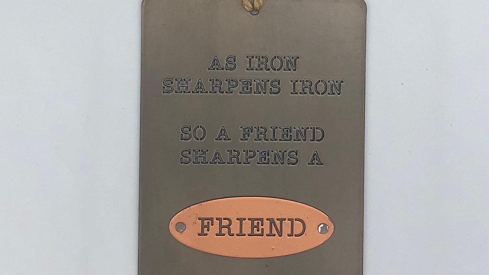 As Iron Sharpens