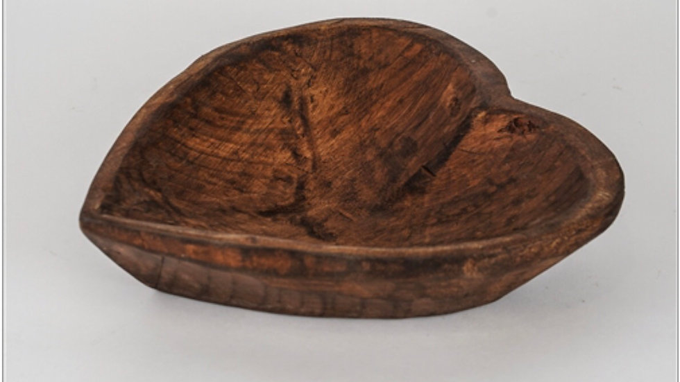 Heart Carved Bowl