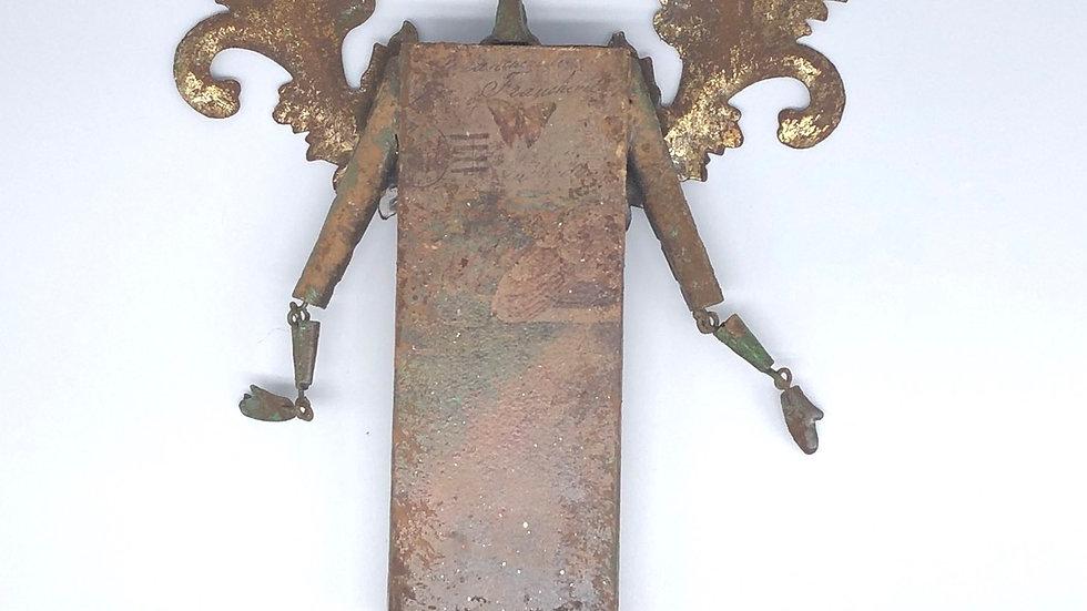 Recycled Metal Angel