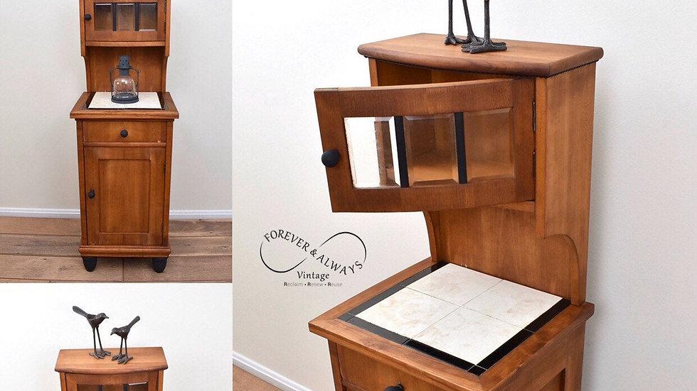 Small Refurbished Vintage Cabinet