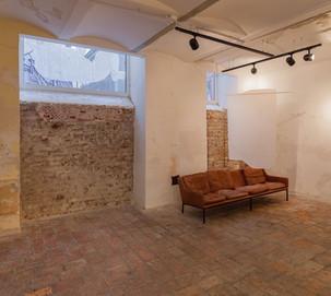 installation shot with work by Flavio Palasciano
