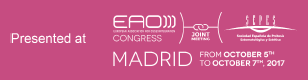 Publicación Internacional en el Congreso de la Academia Europea de Oseointegración, Madrid, 2017.