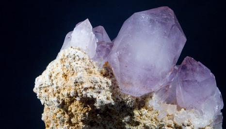 Amethyst, Purple Heart Mine, South Carolina