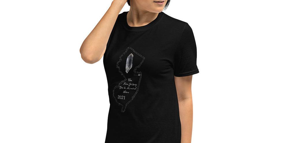 2021 NJ Gem & Mineral Show T-Shirt by Studio Mineralia
