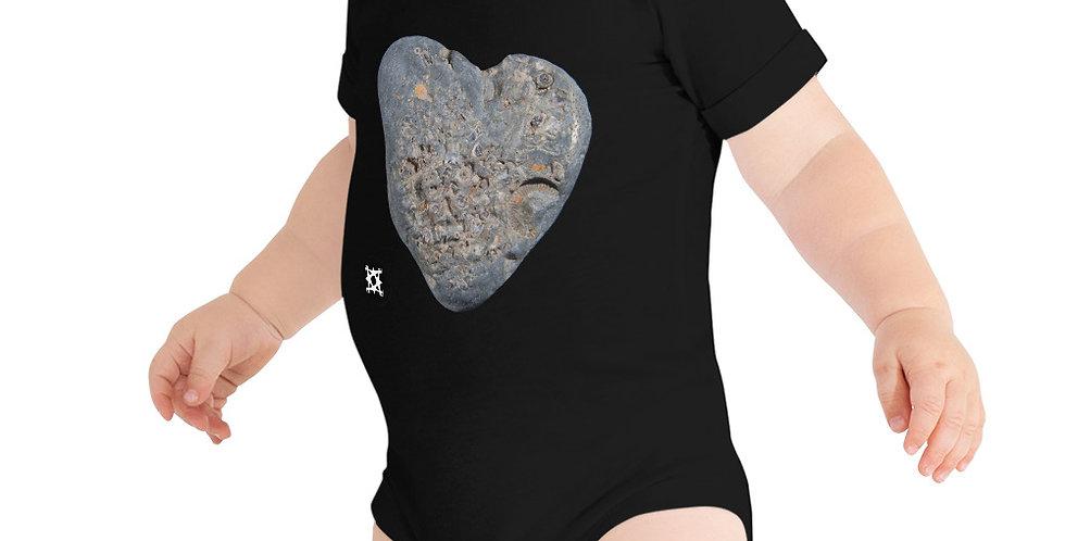 Forever Love Fossil Baby Short Sleeve Onesie