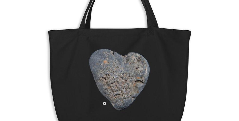 'Forever Love' Studio Mineralia Large organic tote bag