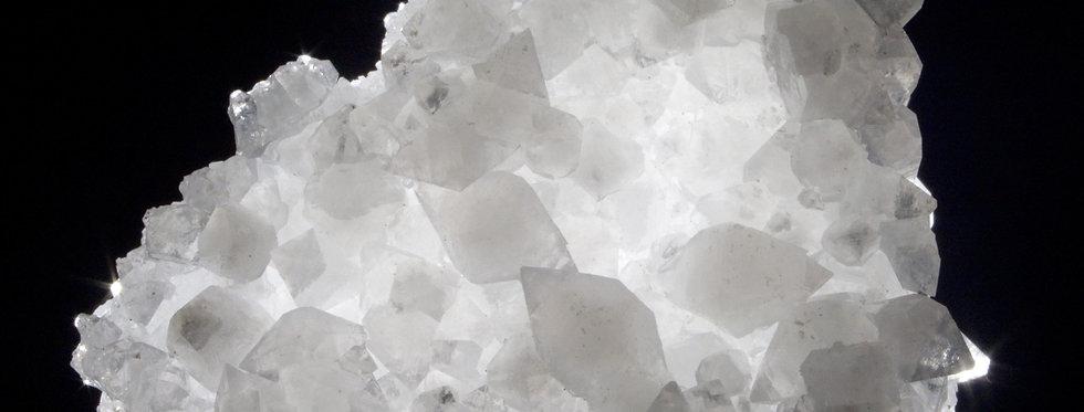 Translucent Plate of Miniature Double Terminated Apophyllite
