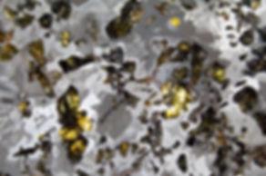 Fluorescent, Rock Mineral Meteorite Art Photography Metal Prints