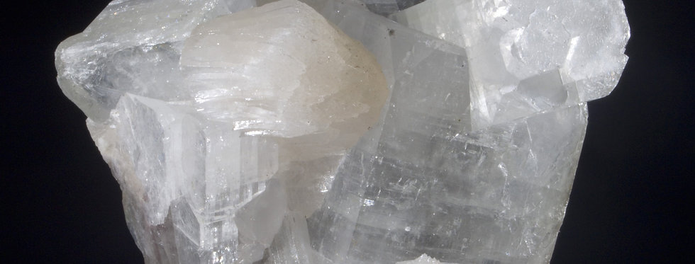 Translucent Apophyllite and Stilbite