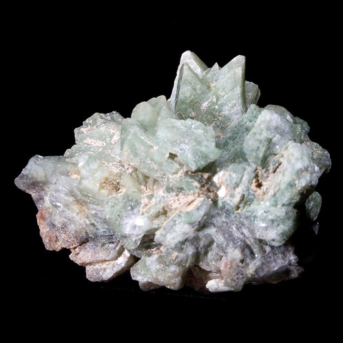 Chorite is likely the culprit in turning this Heulandite a unique shade of green!