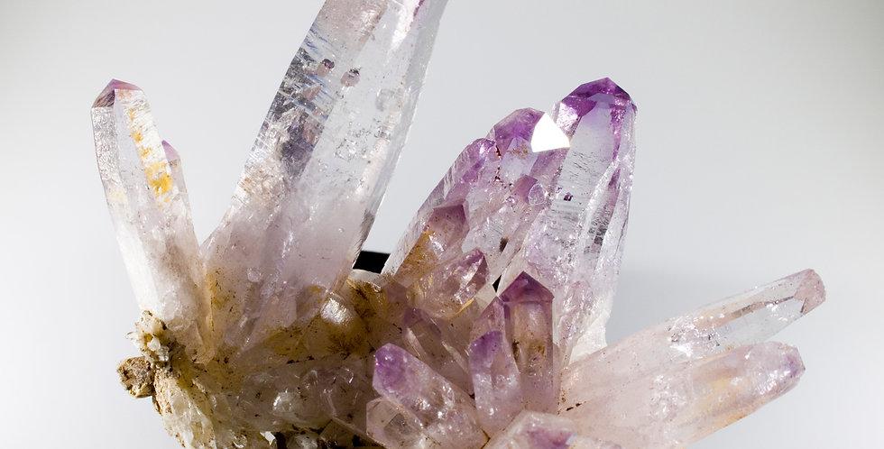 Dozen-Terminated Vera Cruz Amethyst Cluster. Studio Mineralia Earth Art Gallery, Art Prints, Natural decor, Inspiration