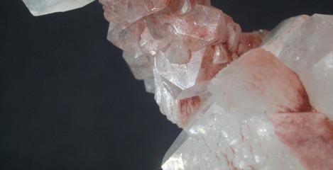 Hematite-coated Apophyllite and Stilbite