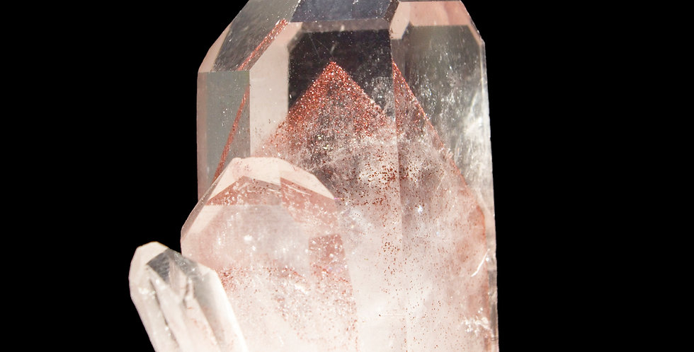 A spectacular, one of a kind piece destined to be the focal point of any collection. This unpolished fan of terminated Quartz