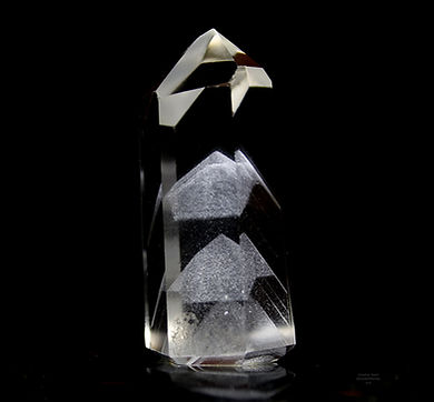 'Phase' Phantom Quartz by Jonathan Stone