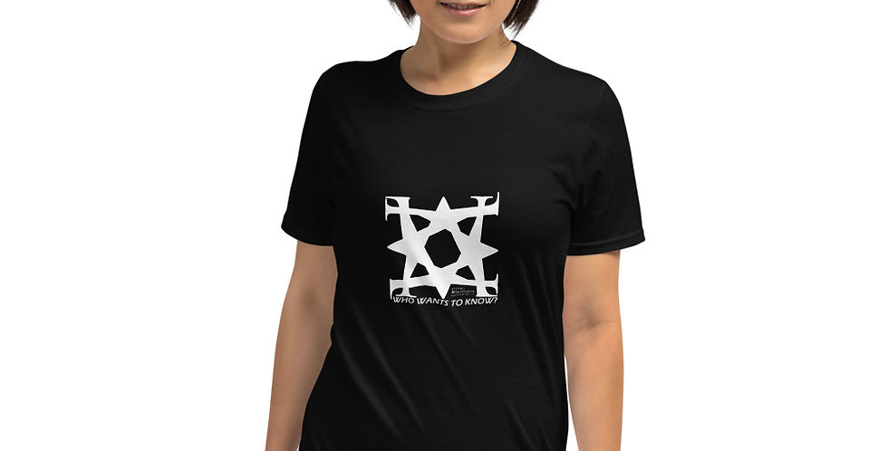 Who wants to know? Studio Mineralia Logo T-Shirt. The eternal question, really.