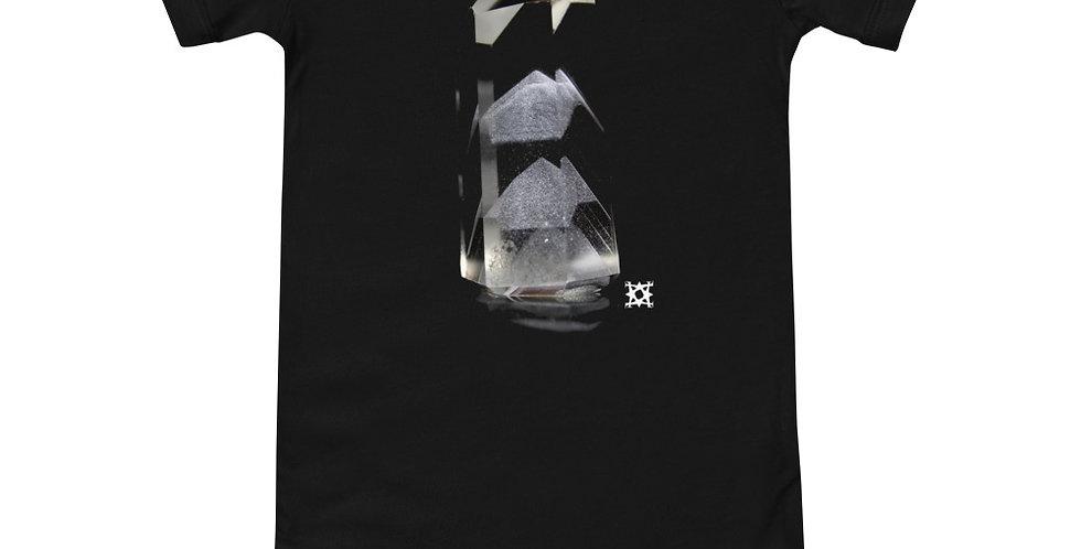 'Phase' Phantom Quartz Crystal Baby Short Sleeve Onesie
