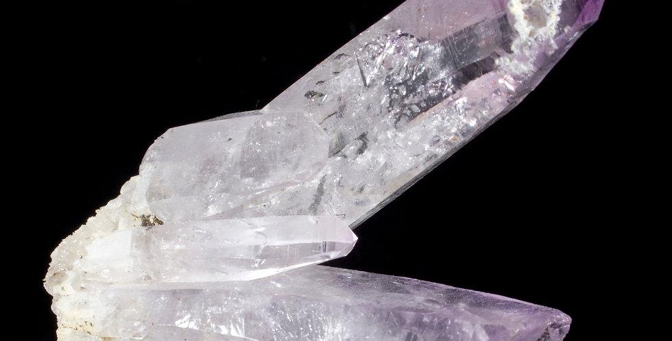 Freestanding Vera Cruz Amethyst 4 Crystal Cluster. Studio Mineralia Earth Art Gallery