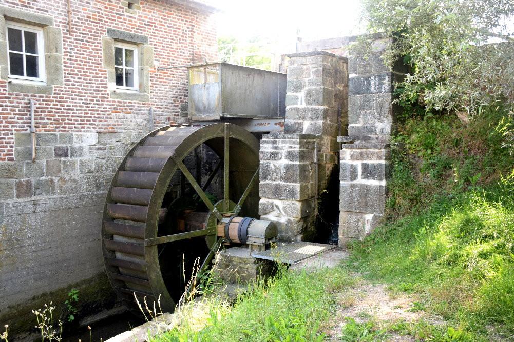 Moulin de la Pede - Roue à aubes