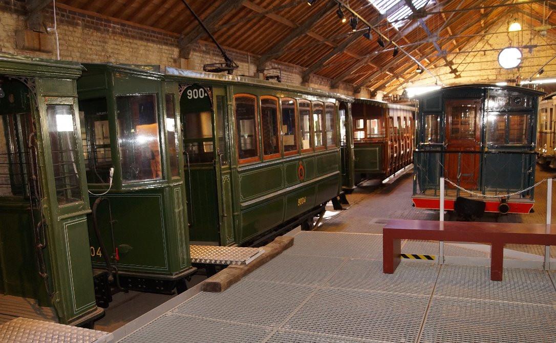 Le Musée du tram vicinal à Schepdaal