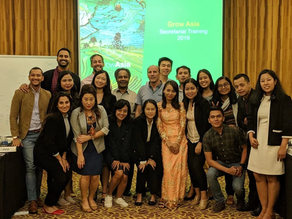 Learnings from the Grow Asia Country Partnership Secretariat Workshop